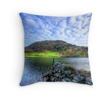 Rydal Water, Lake District Throw Pillow