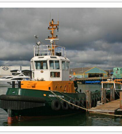 Tug Boat Herbert Sticker