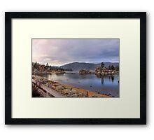 Boulder Bay Framed Print