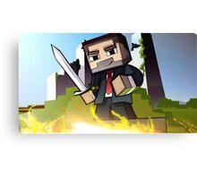 Minecraft Canvas Print