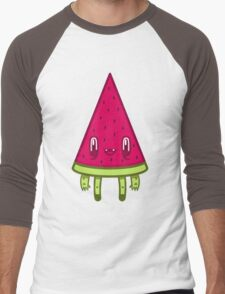Watermelon Slice Men's Baseball ¾ T-Shirt