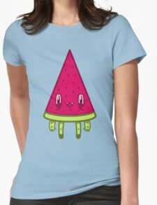 Watermelon Slice Womens Fitted T-Shirt