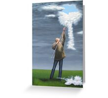 Cloud picker Greeting Card