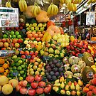 Fresh fruit - Ramblas - Barcelona - Spain by Arie Koene