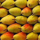 Pears - Ramblas - Barcelona - Spain by Arie Koene