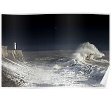 Backwash Attack, Winter 2014 Porthcawl Poster