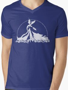 The Lonely Mountain Mens V-Neck T-Shirt
