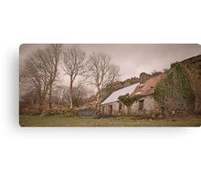Tin Roof - Co. Kerry, Ireland Canvas Print