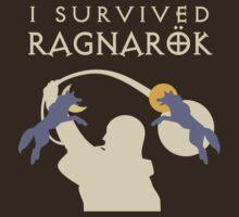 I Survived Ragnarök (wolves) T-Shirt