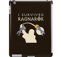 I Survived Ragnarök (wolves) iPad Case/Skin