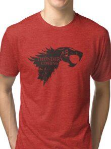 Thundercats is coming Tri-blend T-Shirt