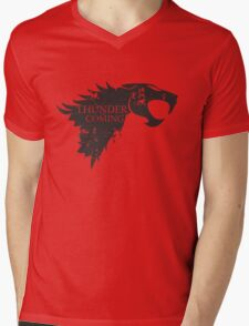 Thundercats is coming Mens V-Neck T-Shirt