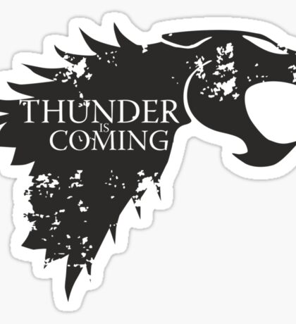 Thundercats is coming Sticker