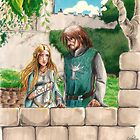 Faramir and Eowyn by Acidbetta