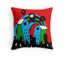 From Hell's House with LOVE 1/3 Throw Pillow