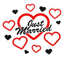 Just Married Design by Style-O-Mat