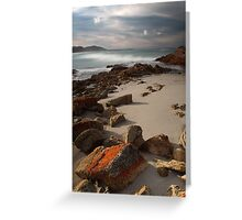 Friendly Beaches, Tasmania, Australia Greeting Card