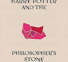 Harry Potter 1 Minimalist Poster by MattEJones