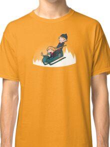 A Snowy Ride Classic T-Shirt