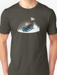 A Snowy Ride T-Shirt