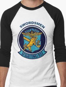 VFA-32 Swordsmen Patch Men's Baseball ¾ T-Shirt