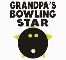 Grandpa's Bowling Star One Piece - Long Sleeve