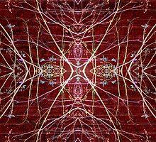 Mystic Symbol Photo Collage by DFLC Prints