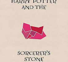 Harry Potter 1 Minimalist Poster (Variation) by MattEJones