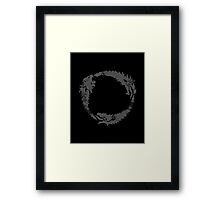 Elder Scrolls Emblem Framed Print