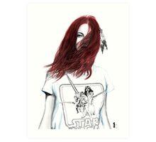 SW Red Art Print