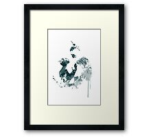 A Complicated Relationship Framed Print