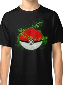 Pokeball Grass Type Pokemon (All pure grass type pokeball) Classic T-Shirt