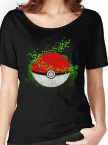 Pokeball Grass Type Pokemon (All pure grass type pokeball) Women's Relaxed Fit T-Shirt