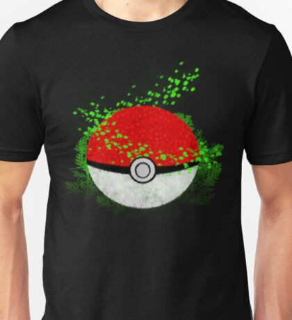 Pokeball Grass Type Pokemon (All pure grass type pokeball) Unisex T-Shirt