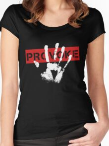 PROVOKE Women's Fitted Scoop T-Shirt