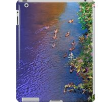 Ducks on patrol | waterscape photography iPad Case/Skin