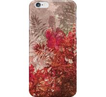 Decorative Leaves Artistic Design iPhone Case/Skin