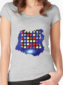 connect 4 Women's Fitted Scoop T-Shirt