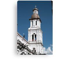 Church Tower in Cuenca Canvas Print