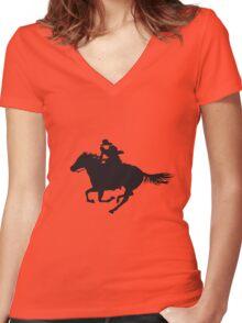 Hidalgo Women's Fitted V-Neck T-Shirt