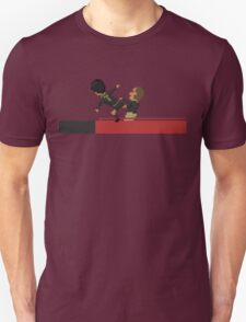 Kung Fu Kick Unisex T-Shirt