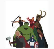 The Avengers by Ben Stockdale