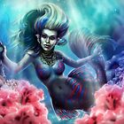 Mandarin Mermaid by Alyssa May