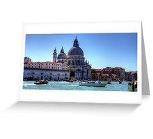 Basilica di Santa Maria della Salute Greeting Card