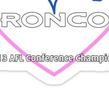 AFL Heart Design Sticker