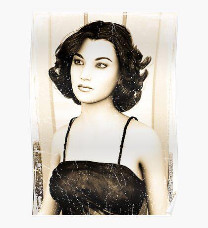 Vintage Woman Poster