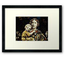 Mrs Williams Framed Print