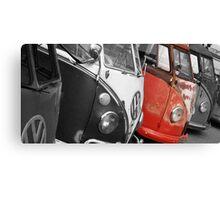 VW Campervans Canvas Print