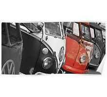 VW Campervans Poster