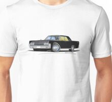 Lincoln Continental (1963) Sedan Black Unisex T-Shirt